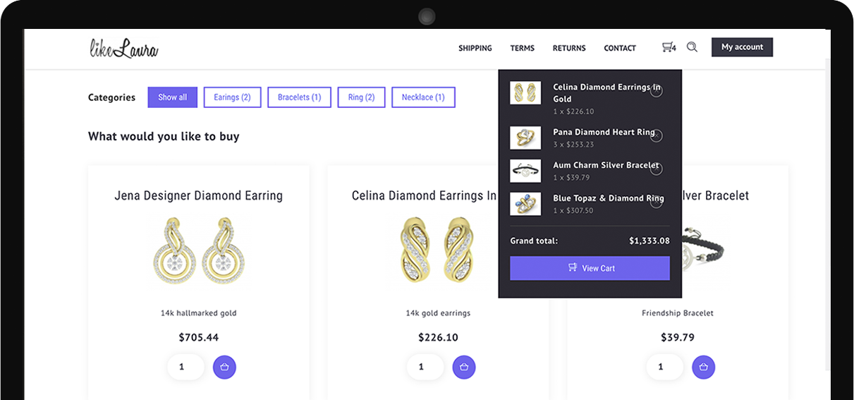 How to build online shop